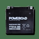 Akumulator za motor 12 V brez vzdrževanja Poweroad & UPLUS