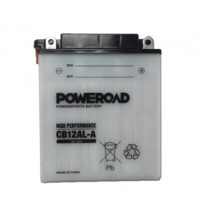 Motorcycle battery - Regular, CB12AL-A POWEROAD 12V 12 Ah