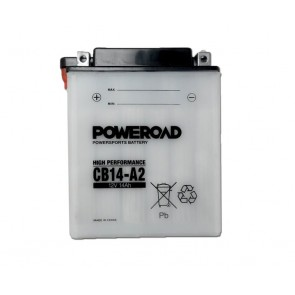 Motorcycle battery - Regular, CB14-A2 POWEROAD 12V 14 Ah