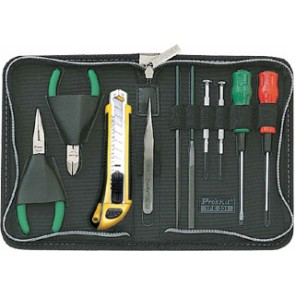 10 pcs Compact Tool Kit