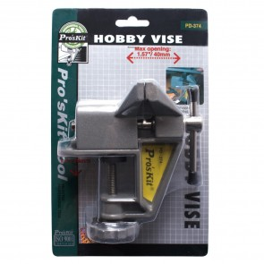 Mini Aluminum Jaw - Vise with Jaw opening 40mm, width 60mm