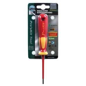 VDE 1000V Insulated Screwdriver (-2.5x75)