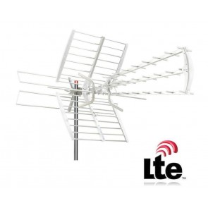 ANTENNA DTT LTE FREE ANTENA VHF UHF ZTL-233-05UV