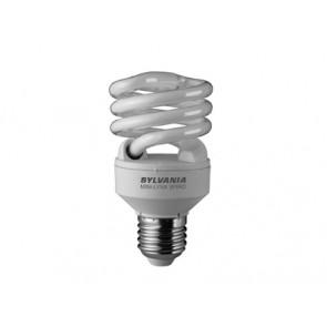 ML SPIRAL 840 E27 20W SLV Compact Fluorescent Energy Saving Lamp