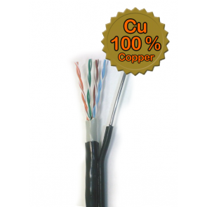 UTP Cable Self Carrying Cat. 5e - hard wire