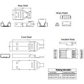 USB-A konektor za kabel