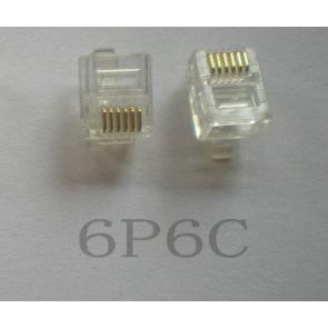 connector TEL. 6/6 RJ12