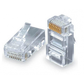 UTP connector for hard wire CAT 5
