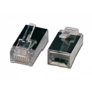 UTP connector for soft wire CAT 5 shielded