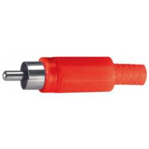 COAXIAL RCA PLUGS WITH CABLE GUIDE