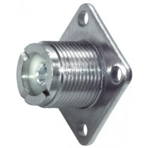 SOLDER-TYPE UHF SOCKET
