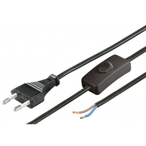 Power cable with switch