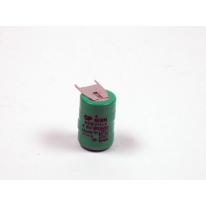 Industrial 4.8V 80 mAh Ni-Mh rechargeable GP battery