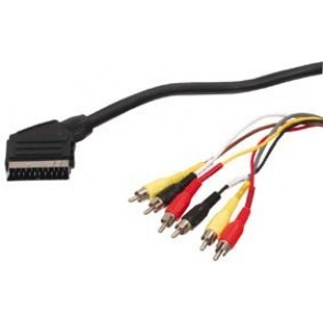 Cable Scart - 6xRCA 11 1,5m