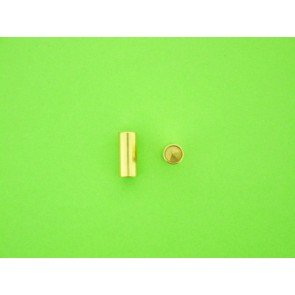 Gold-plated connector 5.5mm female
