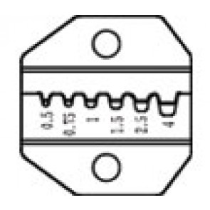 Die Set For Crimper Tool CP-372 - Ferrules