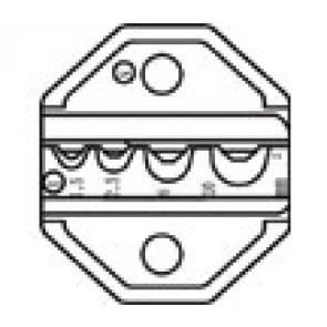 Die Set For Crimper Tool CP-372 - Faston