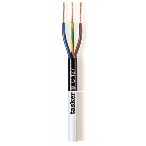 TASKER CABLE C/127 3x0,75 WHITE
