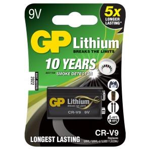 9V lithium battery GP CR-V9