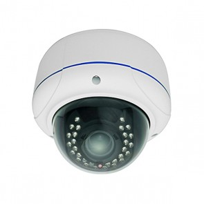 IP 2.0 MP OUTDOOR DOME CAMERA + VANDALPROOF + DAY/NIGHT IR LED do 20m + Daiwon VF 3.6~16 MP lens