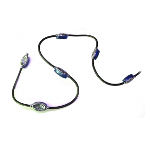 LED module on cable (blue)