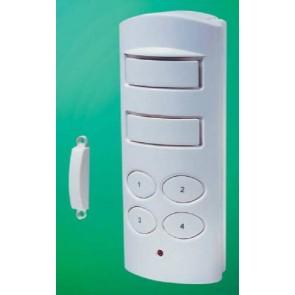 Magnetic contact door entry alarm