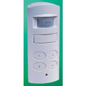 Mini alarm with keypad