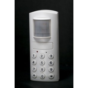 Motion detector alarm with telephone dialler