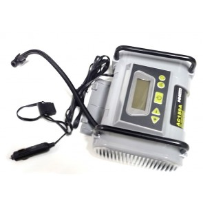 Programmable air compressor with LCD