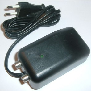 Power supply for antenna amplifiers