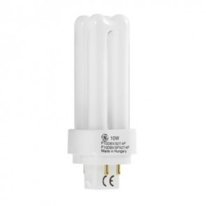 Compact Fluorescent Non-Integrated General Electric 35236 Biax D/E LongLast G24Q-3 4PIN 26W/840