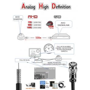 2MP 1080P AHD Camera QH-V470SLC-NO Starlight