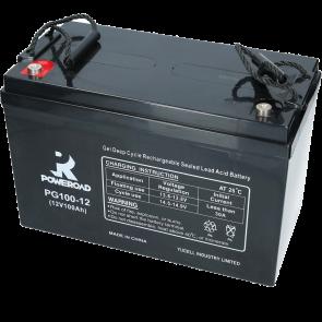 Gel Deep Cycle VRLA battery 12V 100 Ah