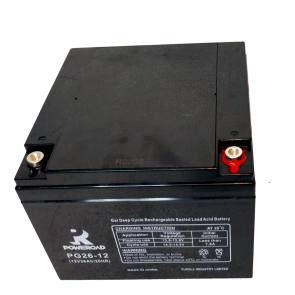 Gel Deep Cycle VRLA battery 12V 26 Ah