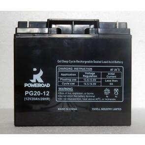 Gel Deep Cycle VRLA battery 12V 20 Ah
