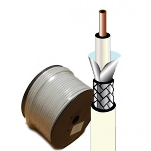Coaxial cable RG-6 CATV (75R) - 100 Meter Roll Price
