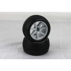 VTEC 1/10 pre-glued tire (2pcs) - S10 Blast TX