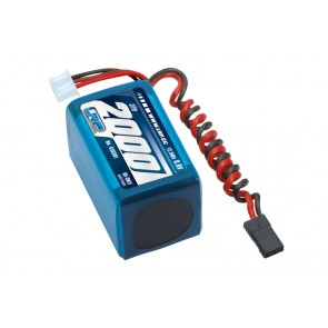 LiFe 6,6V 2000mAh RX-Pack 2/3A Hump RX-Only