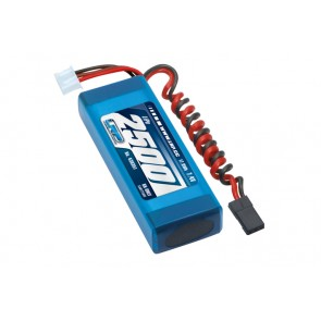 LRP LiPo 2500 RX-Pack 2/3A Straight - RX-only - 7.4V