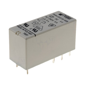 Electromagnetic Relay DPDT 5VDC 8A