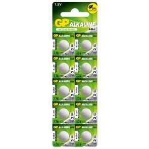 Button battery LR44