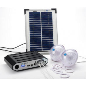 Lighting and power solar system