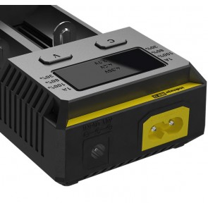 Nitecore NEW i2 intelligent 2 channel charger for Li-Ion, LiFePO4 and Ni-Mh