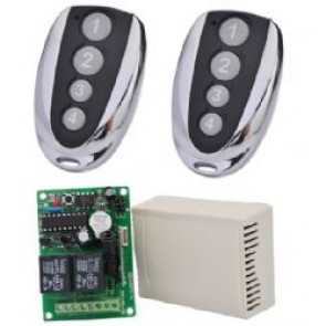 433 MHz REMOTE CONTROL SET for controlling motors with reverse action