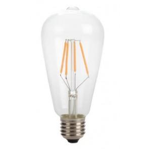 Retro LED žarnica z zelo toplo svetlobo 4W (velika bučka)