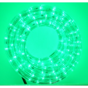 LED rope, GREEN, length 14 m