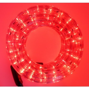 LED rope, RED, length 6 m