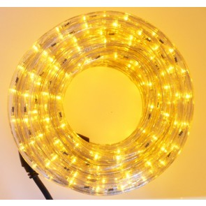 LED rope, YELLOW, length 10 m