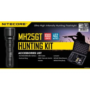 Hunting kit MH25GT (flashlight)