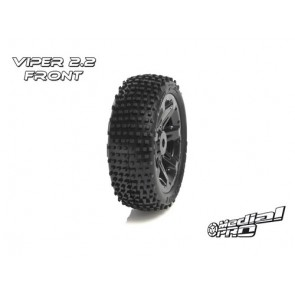 "Medial Pro front tires Viper 2.2"""